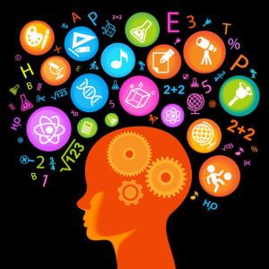 child Head.Children Learn to think